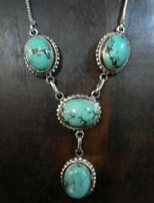 Collane e pendagli di lusso con gemme turchesi argento