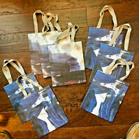 lot of 8 small-size Anthropologie gift shopping bags