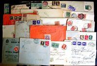 Regno Storia Postale - Floreale Imperiale -- Lotto da 80 buste del settore - 5 -