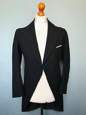 (0136) Vintage bespoke 1930's morning coat suit size 36