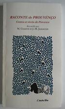 Contes et récits de provence Raconte de Prouvenço M Couston bilingue provencal f