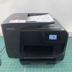 HP OfficeJet Pro 8710 All-in-One Inkjet Wireless Printer Scan Copy Fax