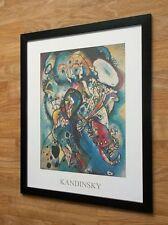 Kandinsky print - 20''x16'' framed, abstract wall art, Two Ovals