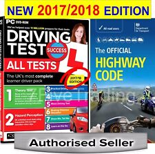 2017/ 2018 Driving Theory Test & Hazard CD DVD + Official Highway Code Book