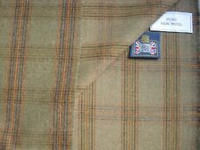 PURE WOOL CLASSIC TWEED, DOUBLE FACE PLAID JACKET/BLAZER/COAT FABRIC - 2.25 m.