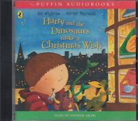 Harry And The Dinosaurs Make A Christmas Wish Ian Whybrow CD Audio Book FASTPOST