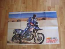 POSTER ANNO 2000 - DAKAR e RICHARD SAINCT e MOTO BMW F 650 RR