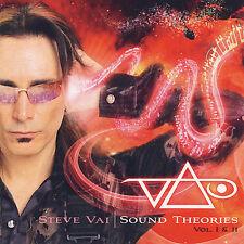 Sound Theories Vol. 1 & 2 - Vai, Steve 2 CD Set New !