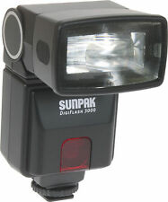 Sunpak DigiFlash 3000 Flash Unit for Canon EOS E-TTL II DSLR Cameras DF3000C