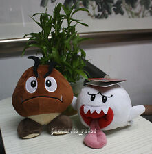 Super Mario Brothers Goomba & Boo Ghost Plush Nintendo Stuffed animal X'mas Doll