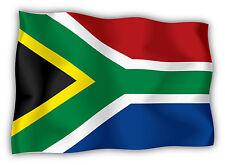 Sud Africa South Africa Südafrika bandiera etichetta flag sticker 15cm x 11cm