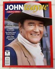 JOHN WAYNE The Duke COMPLETE MOVIE GUIDE Closer COLLECTORS EDITION Rare Pics 96p