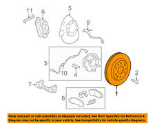GM OEM Front Brake-Disc Rotor 23144340