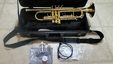 KING 601 TRUMPET IN HARDSHELL CASE with Cleaning and Maintenance kit