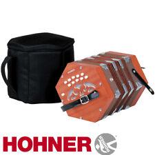Hohner D40 Concertina Key G-C Diatonica Accordion with Padded Gig Bag