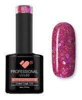 125 VB™ Line Rose Pink Glitter - UV/LED soak off gel nail polish