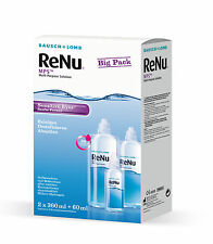 ReNu MPS Sensitive Eyes Big Box 2 x 360ML+ 60ML All-in-One Lösung von Bausch&Lom