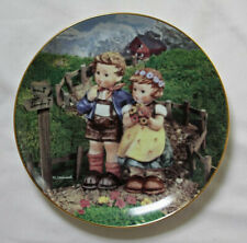 "M J Hummel Collectors Plate ""Country Crossroads"""