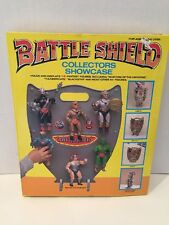 Vintage 1986 Tara Toys Battle Shield Collectors Showcase Unused In Box MOTU KO