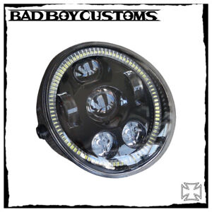 Hauptscheinwerfer LED Angel Eyes BBC 123 Harley Davidson Night Rod, V-Rod,Muscle