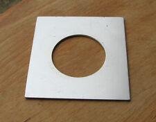 Placa de lente de estilo temprano Linhof 69 Panel Para Compur Copal 1 agujero de 41.8 mm 82 X 75