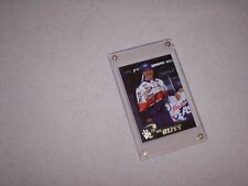 NASCAR -  MIKE BLISS  - PRESS PASS 97 -  AUTOGRAPHED CARD