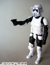 "12"" Biker Scout Trooper figure by Hasbro Star Wars for speeder bike sideshow 1/6"