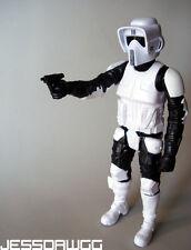 "12"" Biker Scout Trooper figure by Hasbro Star Wars for speeder bike sideshow 1/6"