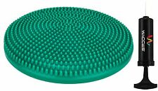 WACCES Fitness Stability Air Cushion Balance Wobble Disc With Pump - Green
