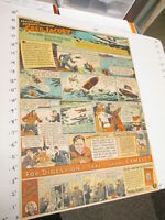newspaper ad 1935 CAMEL cigarettes Fred Jacoby outboard motor boat racing FULL