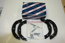 Bosch Brake Shoes with Installation Kit Renault Twingo II Set for Rear