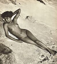 1950s Vintage Female Nude Asian Tamil Indian Model Jackson Photo Gravure Print