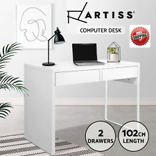 Artiss Office Computer Desk Study Table Home Student Storage Drawers Laptop Ipad