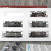 ROCO 43025 - H0 - 5 tlg. Zugset - KPEV - Dampflok + 4 Abteilwagen - OVP #W22810