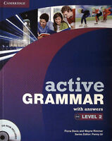 Cambridge ACTIVE GRAMMAR Book Level 2 (B1-B2) with Answers and CD-ROM @New@