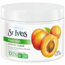 NEW St. Ives Apricot Scrub Invigorating All Skin Types 10 Ounces (6 Pack)
