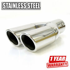Double Car Exhaust Tip Tuning Pipe For Ford Escort Explorer Galaxy Ka Transit