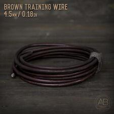 American Bonsai Brown Aluminum Training Wire - 4.5mm - 100 grams - 9ft - 100g