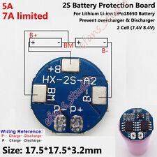 2S 5A 7.4V 8.4V Lithium LiPo Li-ion 18650 Battery PCB Charging Protection Board