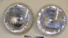 "A Pair of International Harvester Tractor Round Sealed Beam Head Light Ø5 3/4""."