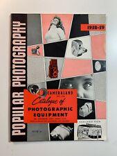 Vintage Catalogue - Sydney Popular Photography 1959