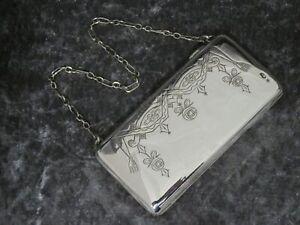 Antique Russian Silver Purse or Card Case c1900