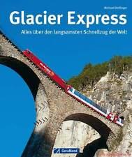 Fachbuch Glacier Express, Schweizer Eisenbahn, viele Bilder, tolles Buch, NEU