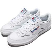 Reebok Club C 85 SO Machine Gun Kelly White Blue Leather Men Shoe Sneaker BS5214