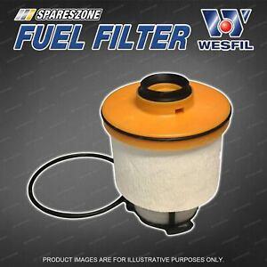 Wesfil Fuel Filter for Toyota Hilux GUN122R GUN125R GUN123 GUN126 GUN136R 4Cyl