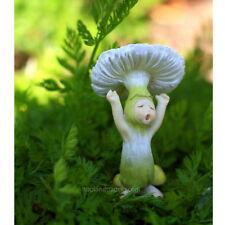 Miniature Dollhouse Fairy Garden Shroom Baby Yawning
