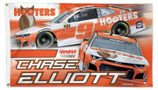Chase Elliott HOOTERS 2019 CHEVROLET #9 3'x5' Deluxe Official NASCAR Racing FLAG