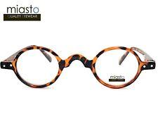 """MIASTO """"MINI ITALY"""" EXTRA SMALL ROUND RETRO BOHO VINTAGE READERS READING GLASSES"""