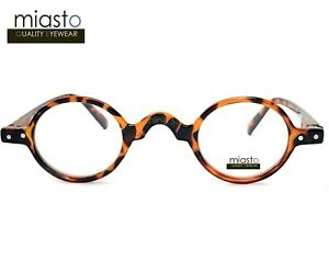"MIASTO ""MINI ITALY"" EXTRA SMALL ROUND RETRO BOHO VINTAGE READERS READING GLASSES"