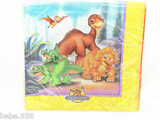 ~THE LAND BEFORE TIME~ 16- PAPER DESSERT   NAPKINS   -    PARTY  SUPPLIES
